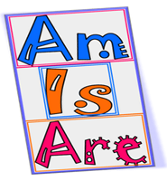 to be - am is are