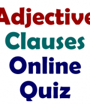 adjective-clauses