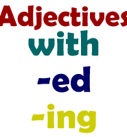 adjectives-ed-ing