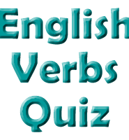 verbs-english-quiz